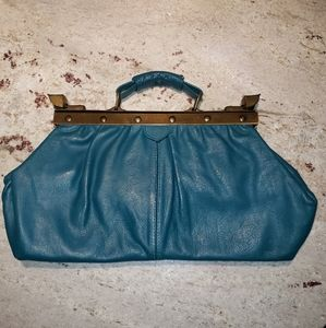 Gorgeous vintage leather handbag